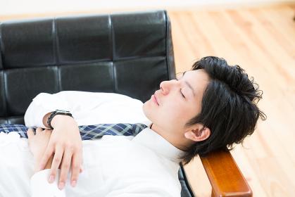 ビジネスマン 寝る