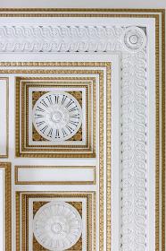 大阪府庁舎本庁舎の天井装飾(大阪市・大阪)