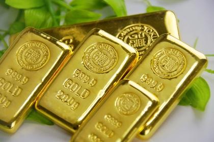 純金 金の延べ棒