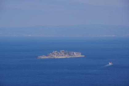 海と軍艦島