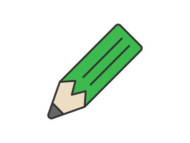 鉛筆のアイコンイラスト