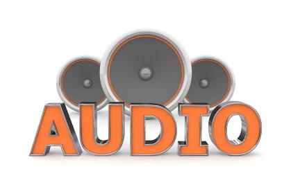 Speakers Audio - Orange
