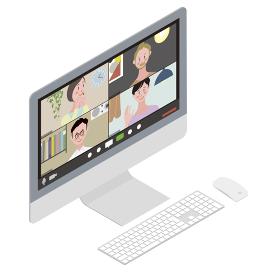 Isometric illust_Desktop PC 1_3
