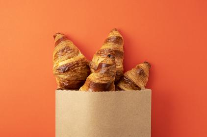 クロワッサンの朝食イメージ