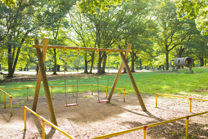 公園 ブランコ