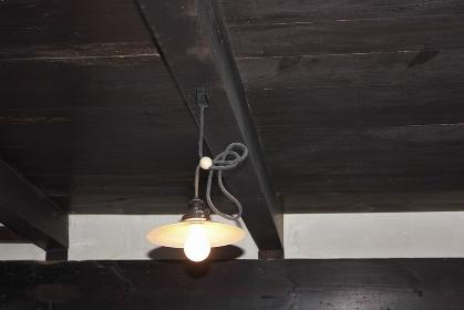 昔懐かしい室内の白熱電球