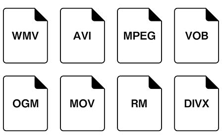 ファイル形式のシンプルなアイコンセット