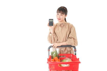 家計・主婦・買い物イメージ