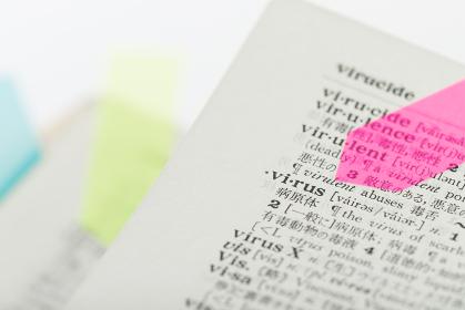 英和辞典に書かれているウィルス