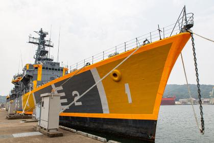魚雷の試験・開発の標的にされる実艦標的(舞鶴・京都)