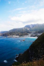 ありま展望台からの眺め(ジオラマ風)