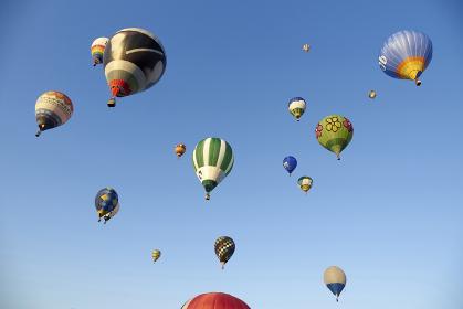 佐賀バルーンフェスタの熱気球