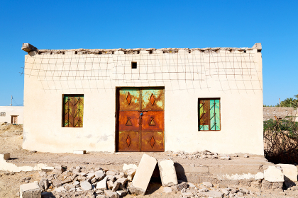 sahara asia in oman the old    contruction and  historical village