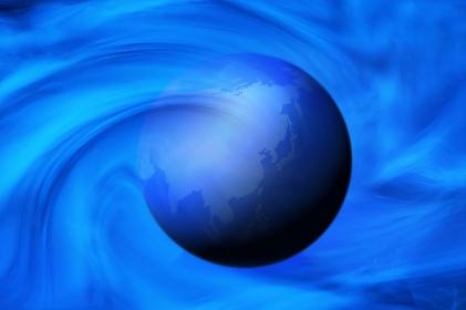 地球、CG