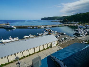 北海道ウトロ港