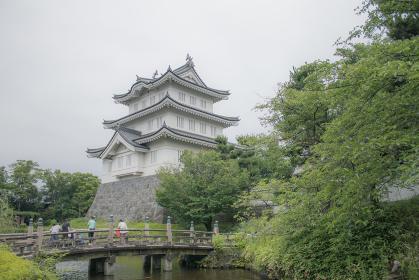 忍城御三階櫓とあずま橋