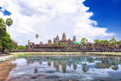 カンボジア・アンコールワットの風景