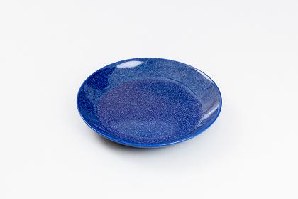 ブルーのお皿(中皿・1人用)