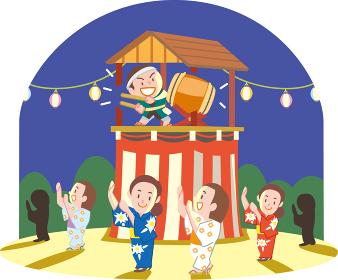 お祭り盆踊り
