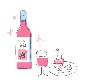 ワインとおつまみ