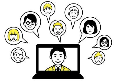 リモートワーク ノートパソコン web会議