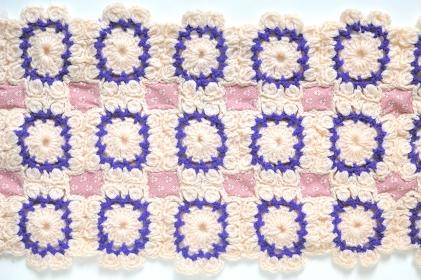 編み物のパッチワーク