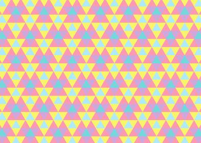 【パターン背景素材】ジオメトリックな三角形の背景 レトロB【パターンスウォッチあり】