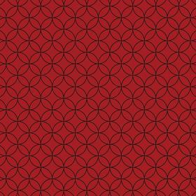 花七宝模様 赤×赤×黒 2