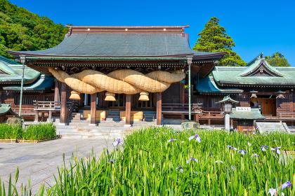 宮地嶽神社の夏(福岡県福津市)