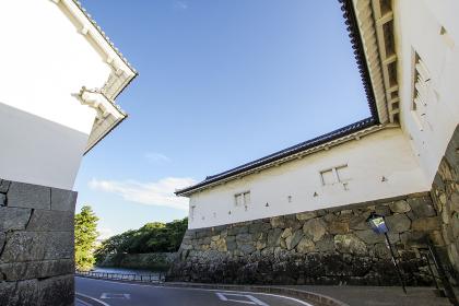 彦根城佐和口の城壁