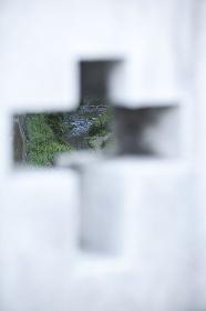 松山橋欄干の十字架