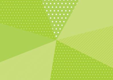 ポップな放射状背景イラスト 黄緑ポップな放射状背景イラスト
