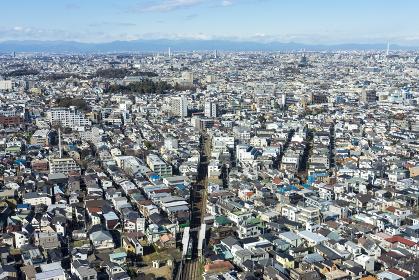 東京パノラマ 世田谷の高層ビルから望む