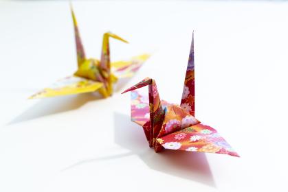 折り鶴 日本の伝統的な折り紙