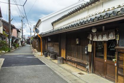 湯浅町湯浅伝統的建造物群保存地区町並み