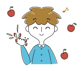 りんごくらい楽勝さ