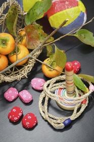 柿と日本の玩具