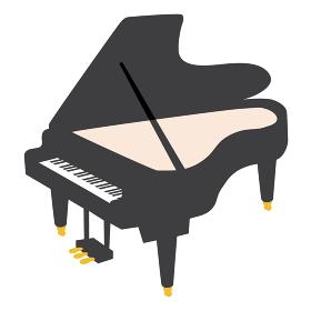 ピアノのベクターイラスト オーケストラ ブラ