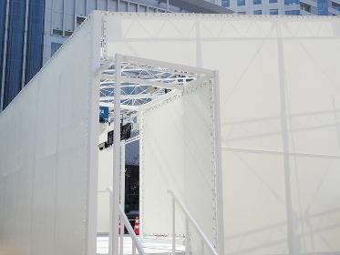 イベント舞台のテント