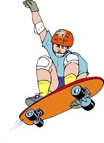 スケートボード競技