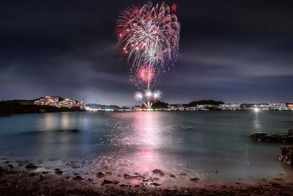神奈川県・浦賀みなと祭花火大会 2018