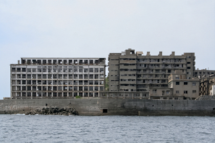 世界文化遺産 軍艦島(長崎県端島)