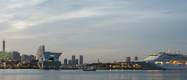横浜港 パノラマ
