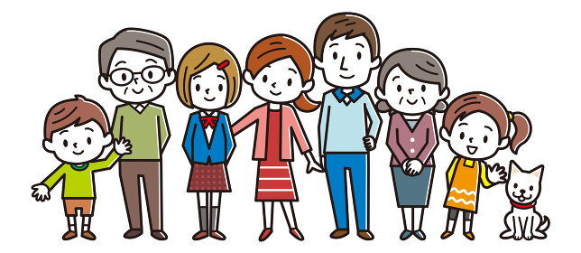 家族 三世代