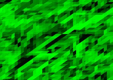 アブストラクト ポリゴン グリーン 01