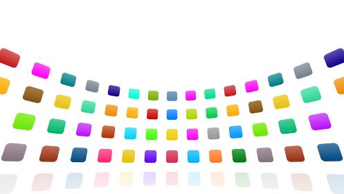 アイコン カラフル シンボル パターン レトロ シンプル アブストラクト 抽象的 3D イラスト