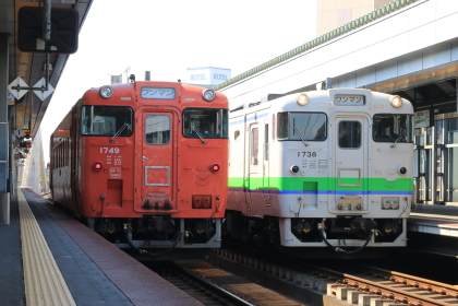 根室本線帯広駅キハ40