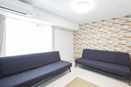 ソファ のあるリビングルーム