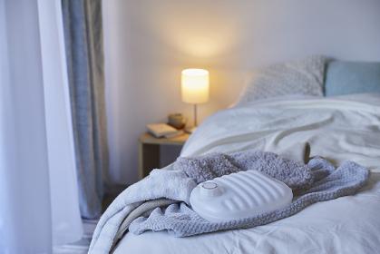 寝室の湯たんぽ