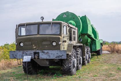 Missile fuel transporter for SS 18 Satan Rocket